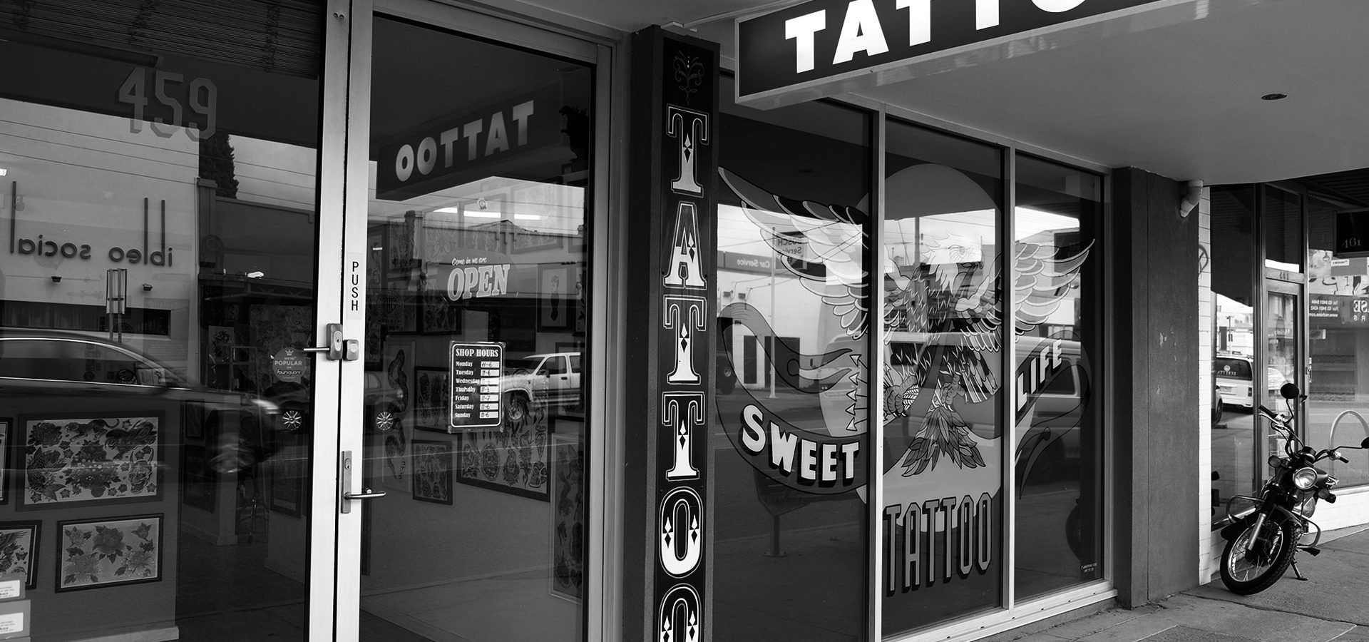 the sweet life tattoo shop custom tattoos walk ins